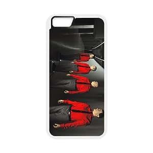 iPhone 6 Plus 5.5 Inch Cell Phone Case Covers White Kraftwerk ALD Unique Phone Case Active
