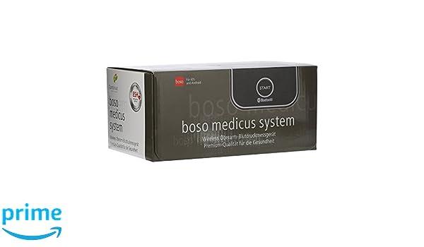 Boso Medicus Sistema/inalámbrico Tensiómetro para la medición en la Parte Superior del Brazo con arrhythmie de detección/Incluye universal de tren Bügel ...