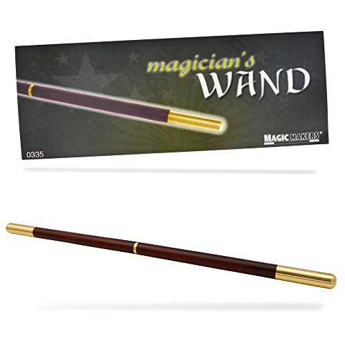 - Magic Makers Pro Model Magician's Wand - 13.5 Inches