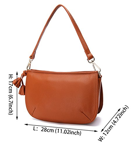 Designer Layer SAIERLONG Womens Bags Ladies Cross Leather Royal Shoulder First Blue Of Body Bags 5F5UZqg