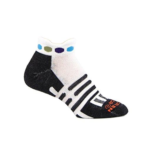 Dahlgren Trainer Socks, White, Medium
