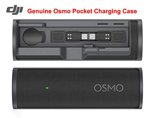 - Osmo Pocket Expansion Kit Controller Wheel Wireless Module Accessory Mount Smartphone 3.5mm Mic Microphone Adapter Compatible with DJI OSMO Pocket Accessories (DJI Genuine Osmo Pocket Charging Case)