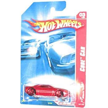 Amazon com: Hot Wheels 2007 Code Car Red Muscle Tone #3 of