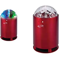 ILIVE ISB46R Bluetooth(R) Portable Speaker with Disco Lights