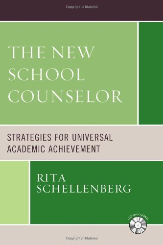 Download The New School Counselor: Strategies for Universal Academic Achievement includes CD-ROM pdf