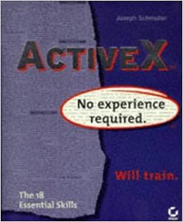Activex: No Experience Required: Joseph Schmuller