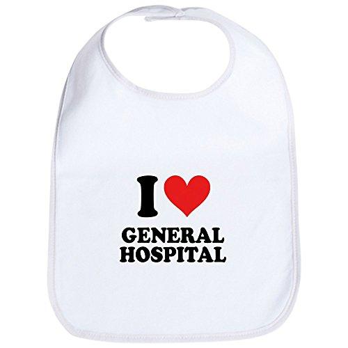 CafePress General Hospital Bib Cute Cloth Baby Bib, Toddler Bib