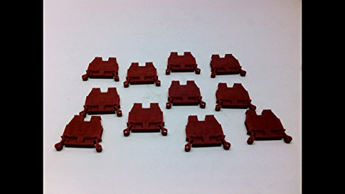 Allen Bradley 1492-W4-Re - Pack of 11 - Terminal Block Red 1492-W4-Re - Pack of 11 - Series A