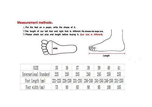 Zapatos Y Un Zapatos Al para para Caminar Zapatos para Bajos Ligeros Cómodos Libre Nuevos Mujer Casuales Aire Zapatos Mujer 6rg6xf