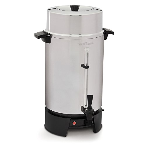 One Light Urn - West Bend 33600 100-Cup Commercial Coffee Urn