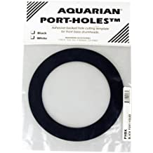 Aquarian Drumheads PHBK Black Port-Holes 5-inch