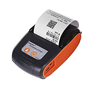 Amazon.com: Wurink Thermal Printer, 58mm Mini Thermal ...