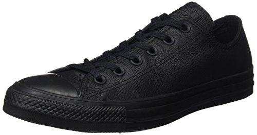 Converse All Star Ox Leather, Chaussure de Sport Mixte Adulte Noir