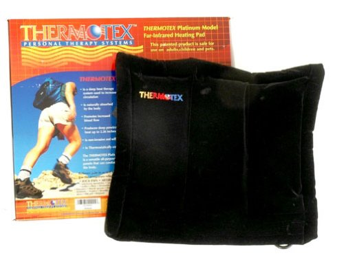 Thermotex Infrared Heating Pad Platinum Pain Relief Bundle