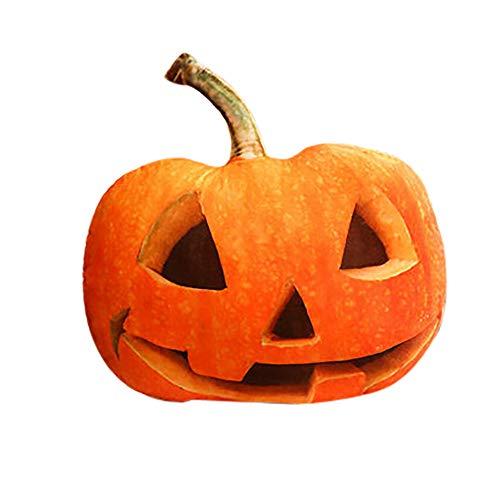 Pumsun ⭐️ Creative Funny Pumpkin Pillow Cushion Home Halloween Decoration (G)]()