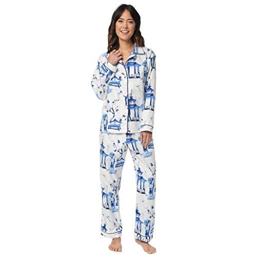 The Cat's Pajamas - Ensemble de pyjama - Femme Blanc blanc Large
