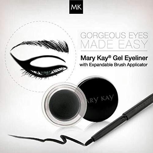 Mary Kay Gel Eyeliner Jet Black with Expandable Brush 0.15 Oz