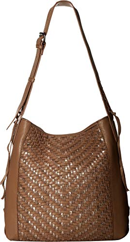 - Kooba Women's Aisha Shoulder Bag Cigar/Metallic One Size