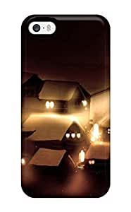 Christopher B. Kennedy's Shop Hot light witch night glowing brooms Anime Pop Culture Hard Plastic iPhone 5/5s cases