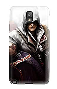 New Style For Galaxy Note 3 Premium Tpu Case Cover Hq Assasin's Creed Protective Case