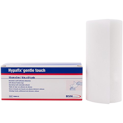 (Hypafix® Gentle Touch - Soft Silicone Retention Tape for Extremely Fragile and Sensitive Skin (6