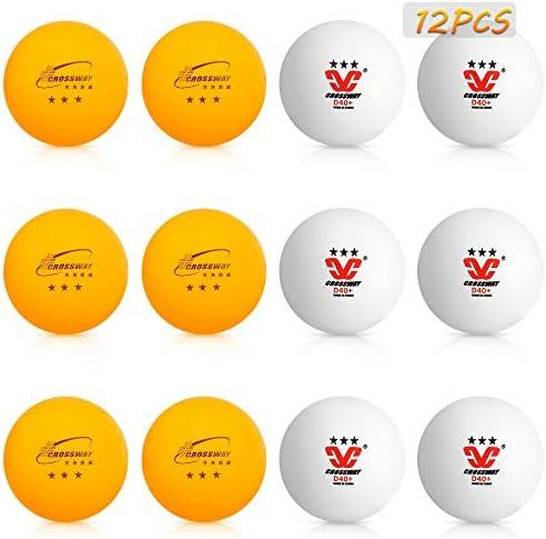 Achort Pelota de Ping Pong Pelotas Tenis Mesa 3 Estrellas Blanco ...