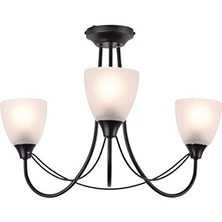 Essentialz symphony black 3 light ceiling light fitting with soft essentialz symphony black 3 light ceiling light fitting with soft glow nightlight aloadofball Gallery
