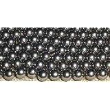 3.5mm Diameter Chrome Steel Bearing Balls G25 Ball Bearings VXB Brand (Set of 250)