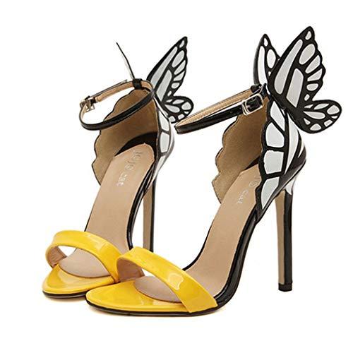 (Teresamoon-Shoes Womens New School Sandal Sandals for Women Platform-Women's Open Toe Ankle Strap Sandal Black)