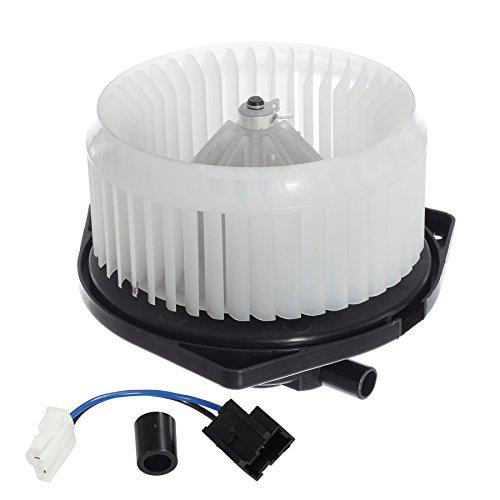 AUTEX HVAC Blower Motor Assembly Replacement for 2001 2002 Infiniti G20 1996 1997 1999 Infiniti I30 1997 1998 1999 2000 2001 2002 2003 Infiniti QX4 1995-1999 Nissan Maxima 1996-2000 Nissan Pathfinder