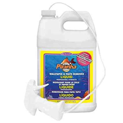 Piranha 206007 1 gal Liquid Spray Wallpaper Remover - Wall Decor - Amazon.com