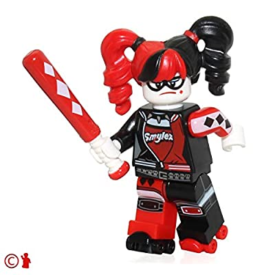 The LEGO Batman Movie MiniFigure - Harley Quinn (Pigtails) 2016!: Toys & Games