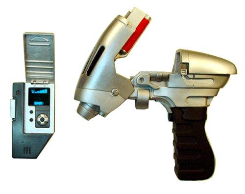 Star Trek Enterprise Trek Tek Phase Pistol & Communicator Set -