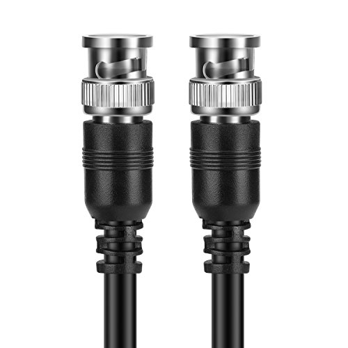 TNP BNC RG-59/U Cable (50 Feet) - BNC Male To Male Extension Connector Adapter RF Professional RG-59/U Grade Coaxial Wire Cord Cable Jack Plug for Video Security Camera CCTV Systems, Oscilloscope by TNP Products (Image #3)