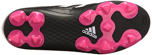 Pictures of adidas Kids' Goletto VI J Firm Ground Black/White/Shock Pink 7