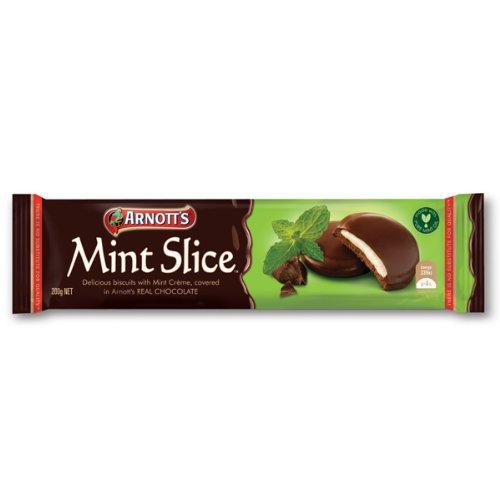Arnott's Mint Slice Biscuits 200g