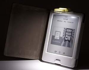 La funda Kobo Touch con luz incorporada de Gecko Covers de color blanco para la eReader Kobo Touch