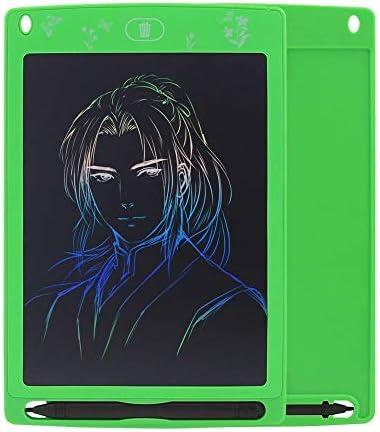 """YKAIEET カラーLCDタブレット8.5""""/ 10"""" LCDカラフルボード子供用ボードライティングタブレットグラフィックタブレット (色 : Green)"""