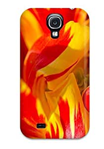Galaxy S4 Case, Premium Protective Case With Awesome Look - Bright Petals