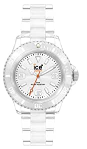 Ice-Watch Classic Collection CL.SR.U.P.09 - Reloj unisex de cuarzo, correa de plástico color transparente