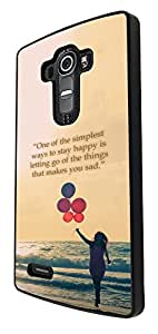 423 - You Can't Buy happiness Buy Weed is close Design For LG G4 Fashion Trend CASE Back COVER Plastic&Thin Metal
