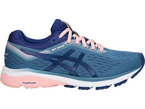 ASICS Women's GT-1000 7 Running Shoes, 10M, Azure/Blue Print