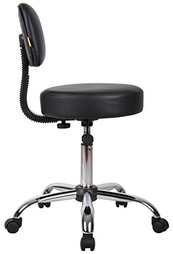 Boss Office Products B245 Bk Be Well Medical Spa Stool