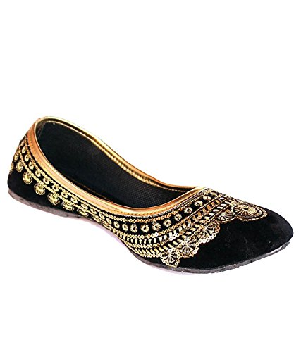 Rajasthani style shoes Indian Zari work Shoes for women Orange Mojari zari work party wear shoes Best valentine gift for her Ethnic
