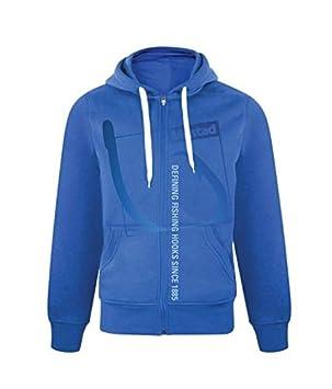 Mustad Pro Wear - Sudadera con Capucha, Color Azul, Talla XL: Amazon.es: Deportes y aire libre