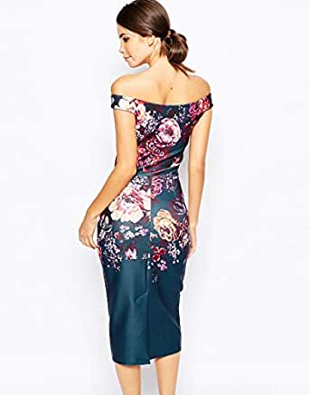 Multi Color Polyester Special Occasion Dress For Women