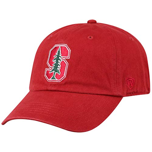 Top of the World NCAA Stanford Cardinal Men's Adjustable Relaxed Fit Team Icon Hat, -