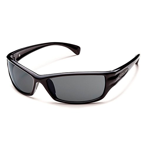 Suncloud Hook Sunglass (Grey Polar Lens, ()