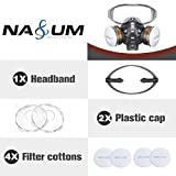 Reusable Half Face Cover, NASUM 8200 Face