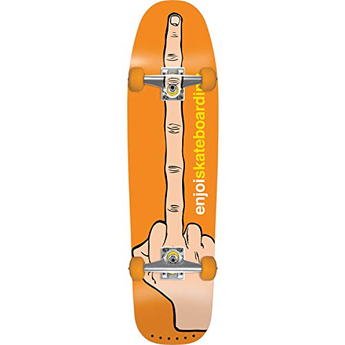 (Enjoi Skateboards The Bird Orange Cruiser Complete Skateboard - 8.5